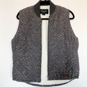 Obey Puffer Vest Extra Soft Size Medium
